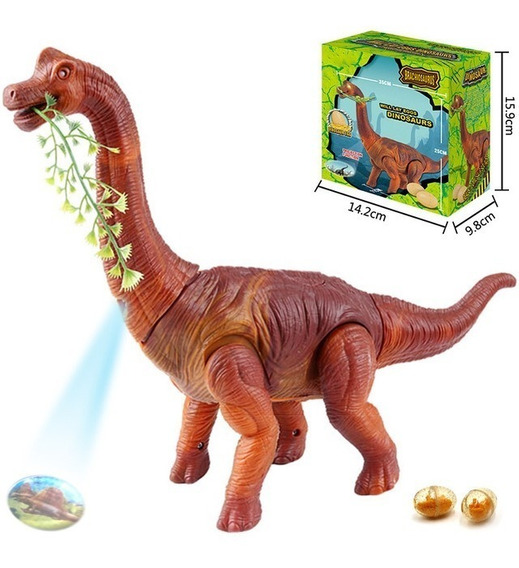 Dinossauro Bota Ovo Som Luz Anda Movimento Projetor Top
