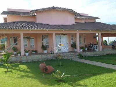 Casa Residencial À Venda, Centro, Cruz Do Espírito Santo. - Ca0023