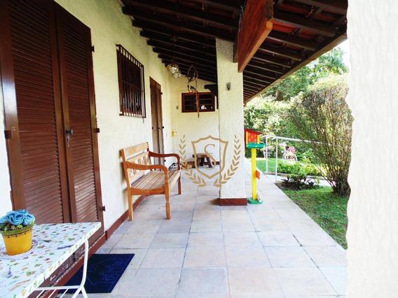 Casa Linear, Fora De Condomínio Com 3 Quartos, Á 5 Minutos Da Feirinha Do Alto - Ca0171