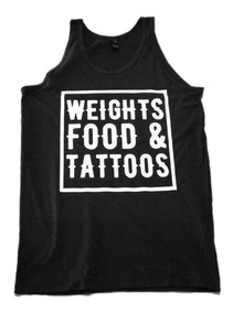 Tank Top Hombre Gym Fitness