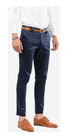 Pantalon De Vestir Tascani Prat Azul