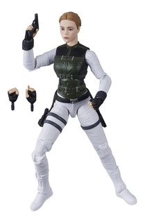 Marvel Legends Black Widow Yelena Belova Hasbro Robot Negro