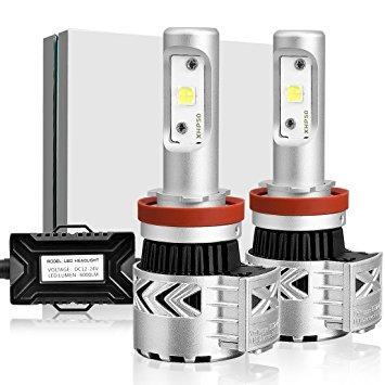 Super Led Farol De Milha H11 Xhp50 12000 Lumens