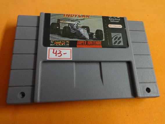 Indy Car Super Nintendo Snes