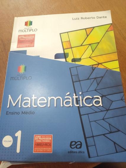 Projeto Multiplo Matemática Vol.1, 2 E 3(do Professor)