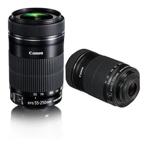 Imagem 1 de 5 de Lente Canon Ef-s 55-250mm F/4-5.6 Is Stm