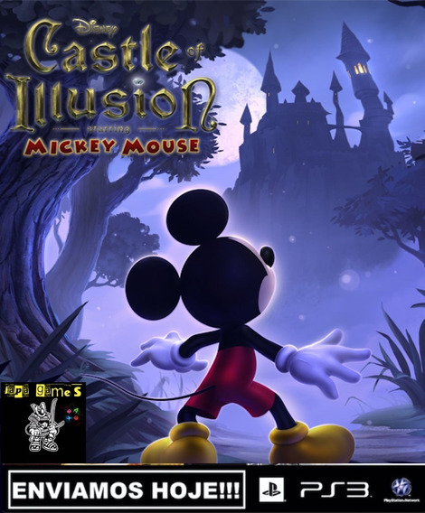 Castle Of Illusion Starring Mickey Mouse Ps3 Jogos Original