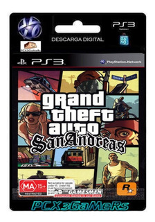 Ps3 Juego Grand Theft Auto: San Andreas Pcx3gamers