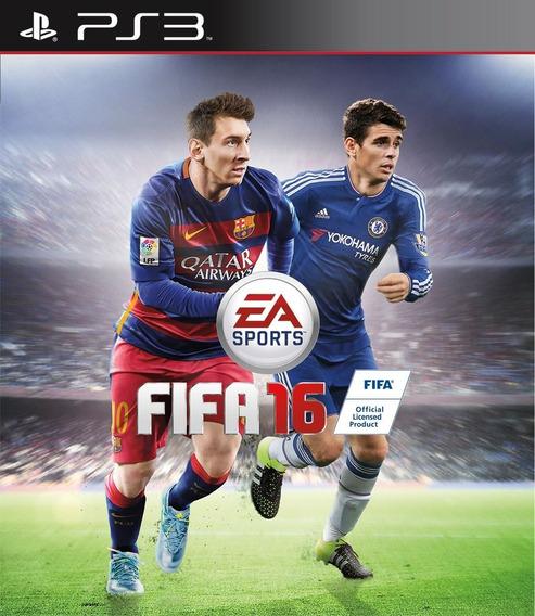 Jogo Fifa 16 Playstation 3 Ps3 Português Mídia Física Game