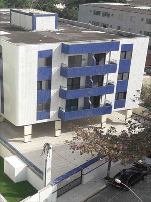 Ref.: 745 - Apartamento Em Mongaguá, No Bairro Vila Atlan Tica - 2 Dormitórios