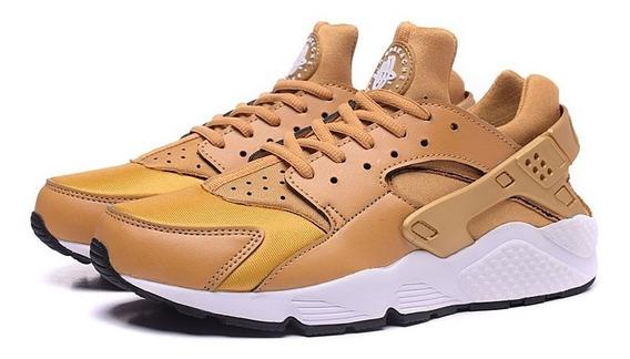 Tênis Nike Air Shoes Lindo Dourado Importado