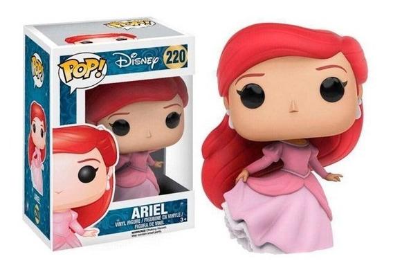 Funko Pop Ariel 220 Vestido Princesa Disney La Sirenita
