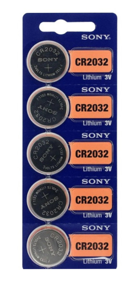 Pilha /bateria Sony Cr 2032 3v Cartela C/5..
