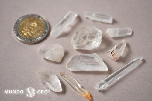 Piedra Mineral Cuarzo Láser Puntas Chicas