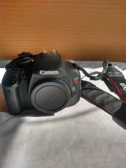 Canon T3i + Lente 18-55mm + Bolsa Original Pouco Usada