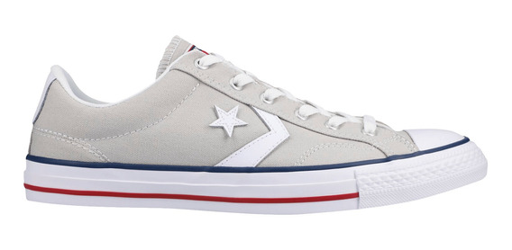 Tenis Converse Casual Star Player Ox Gris