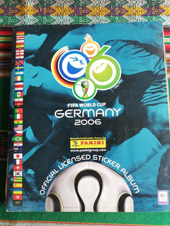 Álbum Fifa World Cup Germany 2006 Panini Mundial Alemania