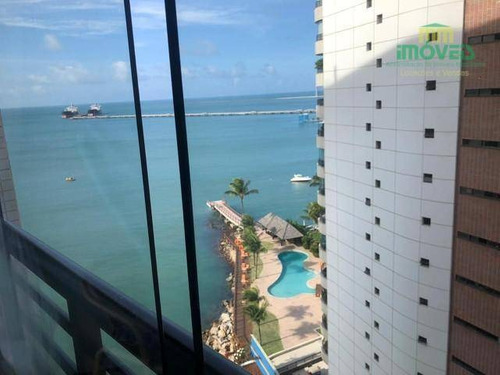 Imagem 1 de 7 de Flat Com 1 Dormitório À Venda, 59 M² Por R$ 380.000,00 - Mucuripe - Fortaleza/ce - Fl0013