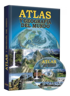 Libro Atlas Y Geografía Del Mundo 1 Tomo Lexus Editores