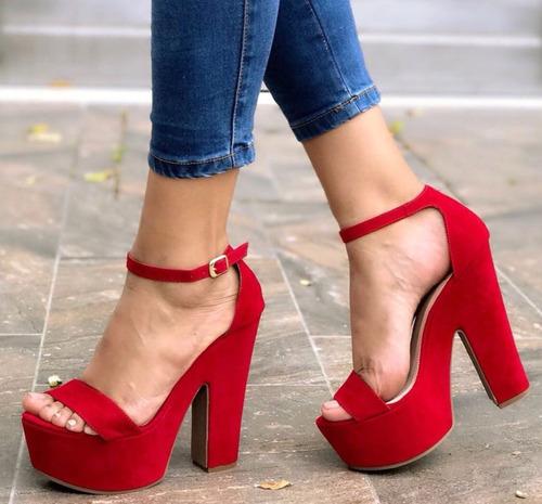 04f8718e Zapatos Mujer Tacones Rojos Altos - Zapatos en Mercado Libre Colombia