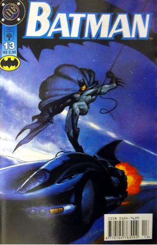 Batman 13 Dc Comics Abril Jovem 1997