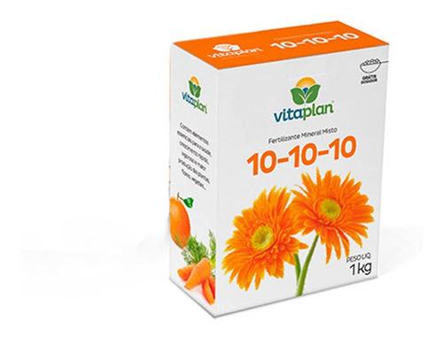Imagem 1 de 1 de Fertilizante Mineral Misto 10-10-10 Vitaplan 1kg