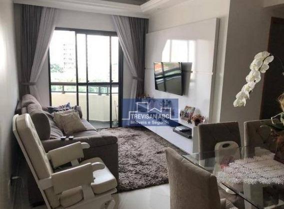 Apartamento À Venda, Vila Caminho Do Mar, Sbc/sp - 2 Dorms, 1 Ste, 2 Wcs E 2 Vagas - Ap2408