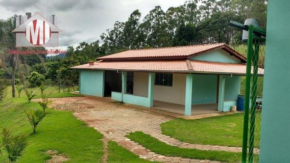 Chácara Com Piscina, Linda Vista, 02 Dormitórios À Venda, 1000 M² Por R$ 180.000 - Rural - Socorro/sp - Ch0023