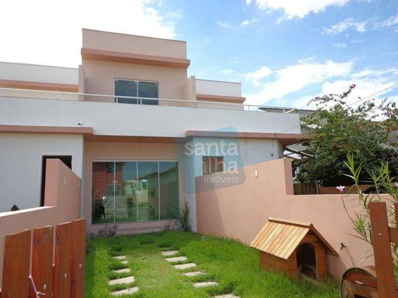 Casa Em Loteamento Residencial No Campeche - Ca0726