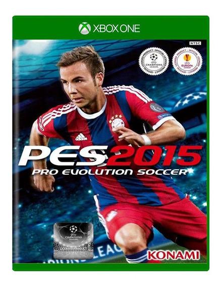Pro Evolution Soccer Pes 2015 - Xbox One - Midia Fisica