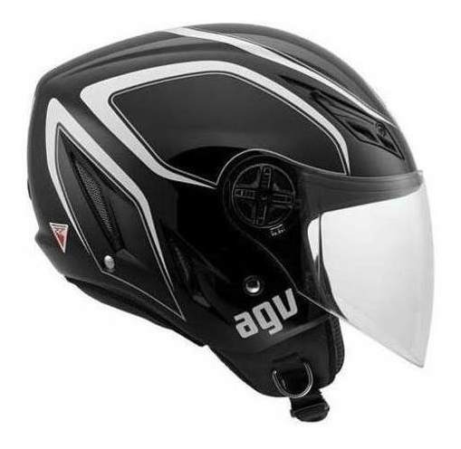 Agv Cap Blade Tab Wht/black 60/l