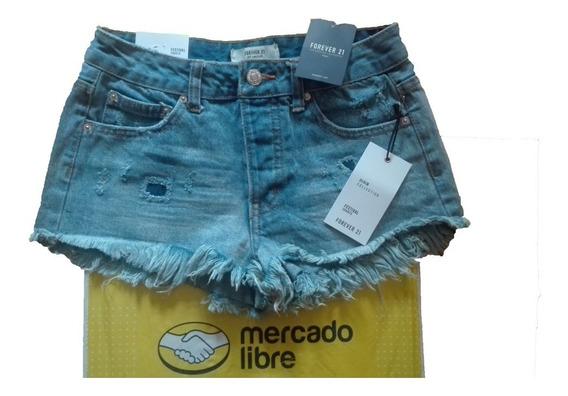 Shorts Vaquero Mezclilla