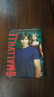 Box Dvds Smallville 4 Temp Completa Novo Lacrado