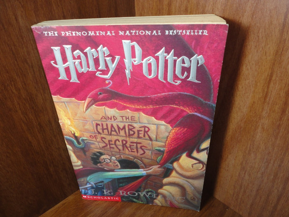 Livro - Harry Potter And The Chamber Of Secrets