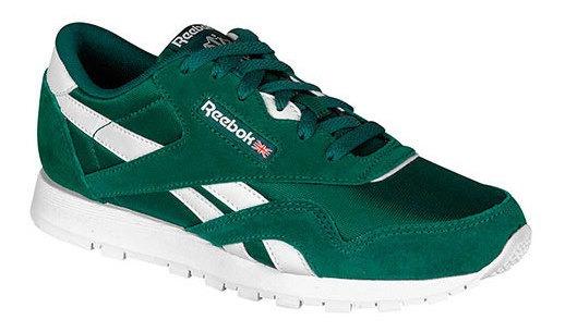 Reebok Sneaker Deportivo Niño Verde Sintetico Btk24329