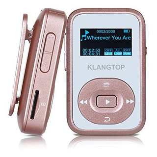 Mp3 Player 8gb Bluetooth Klantop Digital Clip Music Player