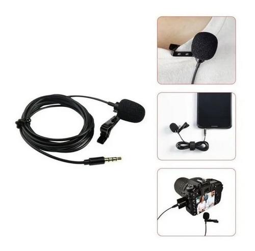 Microfono Pc Corbatero 3,5mm Con Clip Enganche Liviano 25gr