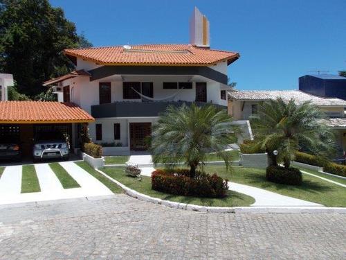 Imagem 1 de 25 de Casa Com 4 Quartos, 490m2, À Venda - Pitangueiras - Lauro De Freitas - 173