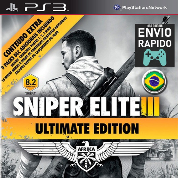 Sniper Elite 3 Ultimate Edition - Jogos Ps3 Original
