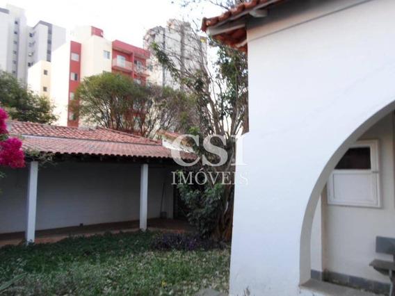 Casa Residencial À Venda, Jardim Chapadão, Campinas. - Ca0672