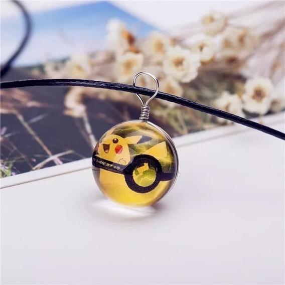 Colar Cordão Pokemon Go Pokebolas Vários Modelos