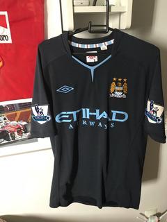Camisa Time Futebol Umbro Manchester City Original Tevez