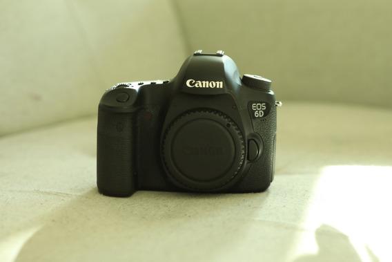 Câmera Canon Eos 6d - 144k Cliques