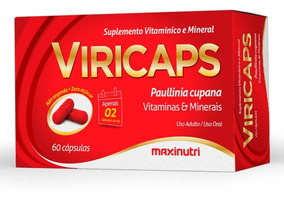 Viricaps Maxinutri - Vitalizante, Energético Físico & Mental