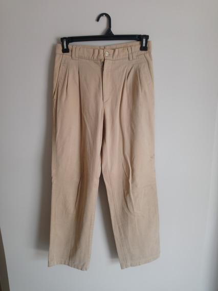 Pantalon New Brady Talle 40 Marron Claro