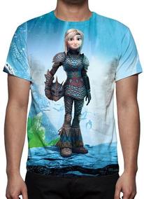 Camisa,camiseta Como Treinar Seu Dragão 3 Astrid - Promoção
