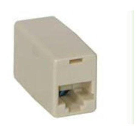Imagen 1 de 3 de C2g / Cables To Go Rj11 Acoplador En Linea Cruzado Mod