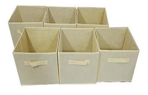 Imagen 1 de 1 de Cubos De Almacenamiento Unicos Para El Hogar - Canasta De A
