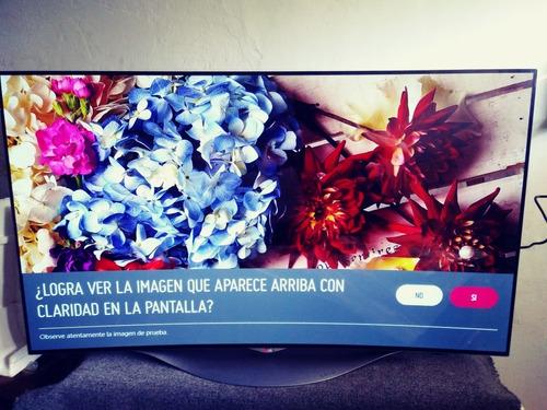 Tv Oled LG 55 Ec 9300 3 D Curvo En Caja Okm