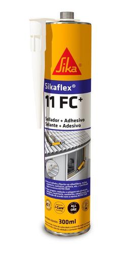 Imagen 1 de 9 de Sikaflex 11 Fc+ Adhesivo Y Sellador Elástico Blanco 300ml